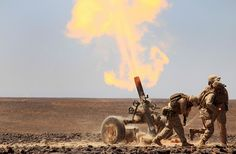 Fire Support by Marines #USMC
