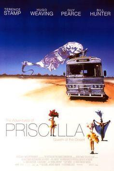 The Adventures Of Priscilla, Queen Of The Desert (movie poster)