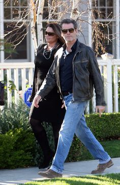 Pierce Brosnan for Peace and Justice Haiti - Keely Shaye Smith.
