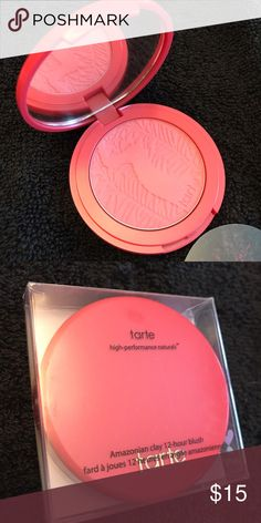 "✨NEW✨ TARTE blush ""True Love"" New TARTE Amazonian clay 12-hour blush in True Love / Formulated without: mineral oil, parabens, phthalate, triclosan, sodium laurel sulfate or gluten / Cruelty free / No Trades / Offers Welcome! tarte Makeup Blush"