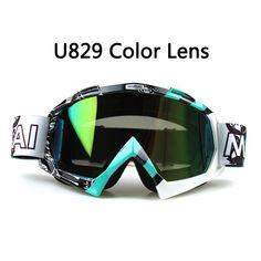 27bc874e60c Motocross Goggles Glasses Cycling MX Off Road Helmet Ski Sport Goggles