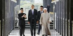 """Obama went to a mosque in Malaysia on Sunday, and what he said there is very, very disturbing.  Young Conservative 4-28-2014.  The 70 year-old cleric said Obama had frequently replied with InsyAllah (Malay for """"Allah willing"""") and terima kasih (""""thank you"""") during the tour.   ( Saying Allah willing rather than God willing means you worship Allah, not God.  A Muslim in sheep clothing is still a Muslim Folks. )"""