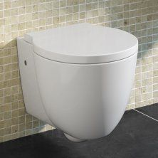 Tocha Wall Hung Toilet inc Luxury Soft Close Seat