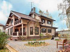 Дом из клееного бруса от компании «СДМ Новый дом»   Дома из клееного бруса   Журнал «Деревянные дома»