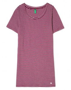 Acquista T-shirt a righe Bordeaux da T-Shirt E Top sullo shop ufficiale di…