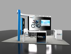 Looking for an exhibition stand? Exhibition design companies like Applemed offer a remarkable exhibition design and build service across the UK and Europe Exhibition Stand Design, Uk Europe, 3d, Building, Exhibition Stall Design, Buildings, Construction, Architectural Engineering
