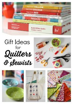 Quilt Books and other sewing gift ideas