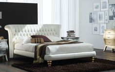 """This """"Royal"""" leather bed is fit for a king and queen"""