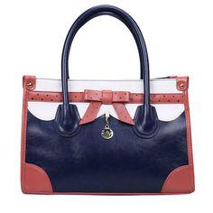 ow Rivets Messenger & Shoulder Bag