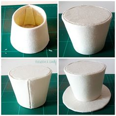 Teaspoon & Candy: Mini Top Hat Tutorial - Easy for Beginners (not really for dolls but I want to make a tiny one!)