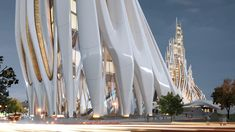 Zaha Hadid's Legacy: Proposal for London by the Architect's Final Students | Urbanist