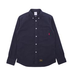 Wtaps Flannel Longsleeve Shirt - Classic Flannel Longsleeve Shirt from Wtaps.