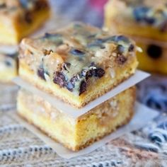 Coconut Peanut Butter Magic Cake Bars. Part yellow cake, part Magic/Seven Layer Bars, with butterscotch & chocolate chips.