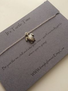 Turtle Necklace Silver Turtle Necklace Sea by Instyleglamour