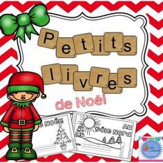 This product contains two different mini-books for french emergent readers about Christmas. They are ready to use (print and staple). Each book is available in 3 different versions. French Articles, French Resources, French Christmas, Christmas Minis, Christmas Stuff, Xmas, Co Teaching, Teaching Ideas, Grade 1 Reading