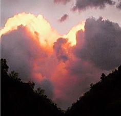 My hearts in the clouds!