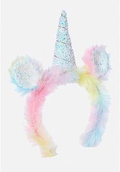 Justice is your one-stop-shop for on-trend styles in tween girls clothing & accessories. Shop our Fuzzy Unicorn Headband . Unicorn Fashion, Unicorn Outfit, Unicorn Nails, Unicorn Headband, Unicorn Clothes, Unicorn Room Decor, Unicorn Rooms, Unicorn Bedroom, Light Up Unicorn