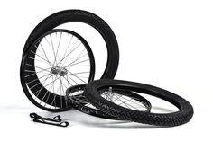 Räder-Set für Simson-Anhänger Speichenräder Reifen und Felgenband