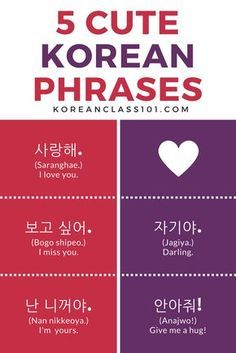 Top 25 Useful Korean Phrases Are you a Korean learner? Or are you planning to visit Korea? Well, then these 25 Korean phrases are the ones you MUST learn. They are the most useful and basic phrases. Korean Words Learning, Korean Language Learning, Korean Phrases, Korean Quotes, Cute Korean Words, Cute In Korean, Cute Phrases, How To Speak Korean, Learn Korean