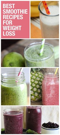 Drop the pounds with these smoothie recipes! www.greennutrilabs.com