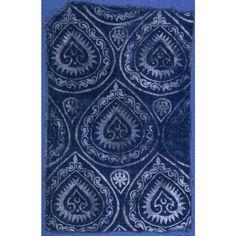 indigo pattern, 13th–15th century