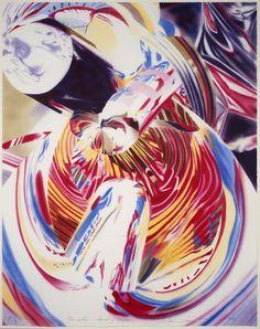 Navigator by James Rosenquist at the Leslie Sacks Fine Art gallery