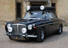 TVR Powered Rally Build: 1970 Rover P5B V8 Coupe