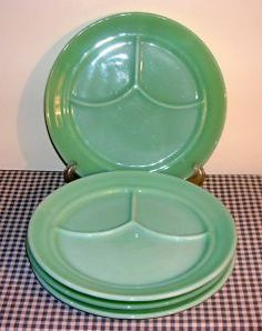 I also collect, and use, Jadite. I love the milky green tone to these dishes. I would love to add the 3-part diner plates to me collection!
