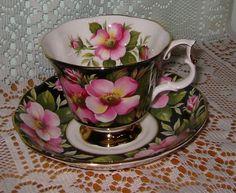 """Royal Albert """"Alberta Rose, made in England 1975-1995, Gainsborough style"""