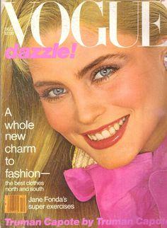 1979 Vogue Magazine Jane Fonda Gia Carangi Truman Capote Snowdon Pope Ads 70s | eBay