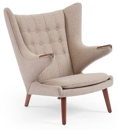 Light Modernica Papa Bear Chair by Modernica // product available on HomeLovers.pl