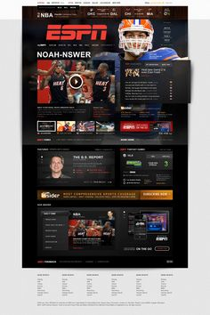 Sports media: Sports mediums such as TV shows and networks, web sites, magazines, newspapers, and radio broadcasts. Victoria