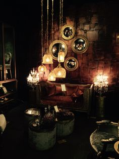 Dark Thoughts, Dark Art, Tea Lights, Candles, Mystery, Red, Home, Objects, Light Fixtures