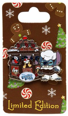 Disney Trading Pin WDW Gingerbread House 2012 Disneys BoardWalk Resort Stitch Donald Duck >>> You can find out more details at the link of the image. Disney Stitch Pins, Lilo And Stitch, Disney Pins Sets, Disney Trading Pins, Disney Style, Disney Love, Disney Pixar, Walt Disney, Disney Lanyard