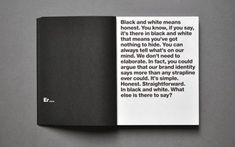 North / First Direct / Brand Book / 2008