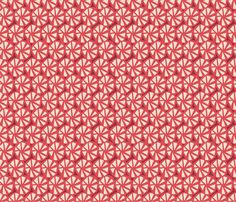 Wheels red 50 fabric by chicca_besso on Spoonflower - custom fabric