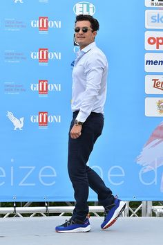 Orlando Bloom Photos - Celebs Attend Giffoni Film Festival 2015 - Zimbio Celebrity  Sneakers 0aac628f59
