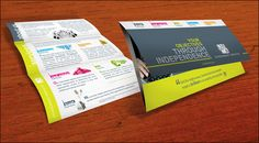 Simple brochure layout for a lot of info: Eleven711DACAblog