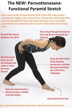 The NEW Parsvottonasana: No more hamstring pain and backbody tightness!