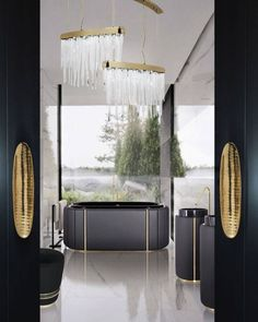 Do you think it's time to transform your bathroom design? Then click to read our article! #luxuryhomes #homedesign #bathroomdecor #homedecor #luxurydesign #luxuryfurniture #contemporarydesign #bathroomideas #luxurybathroom Best Interior, Luxury Interior, Luxury Furniture, Furniture Design, Interior Design, Luxury Home Decor, Luxury Homes, Modern Bathroom Design, Modern Design