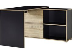 Slide 4036 sarok íróasztal DEK. 161 antracit-sonoma tölgy