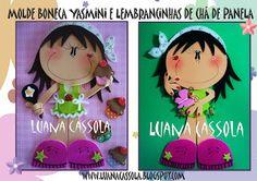 Usando a Cachola: Molde Boneca Yasmini