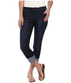 Joe's Jeans Cool Off Clean Cuffed Crop in Samantha Samantha - Zappos.com Free Shipping BOTH Ways