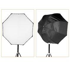 Godox 120cm / 47.2in Portable Octagon Softbox Umbrella Brolly Reflector for Speedlight