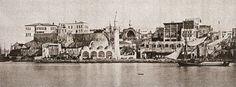 Hafen von Chania (Ausschnitt) Josef Winkler [Seefeld- Winterreise nach Kreta 1888]