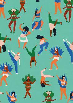 Rio pattern - naomi wilkinson