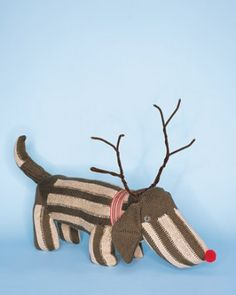"""See the """"Rudolph"""" Sock Dog in our Christmas Sewing gallery"""