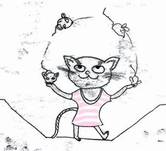#Jonglieren ist das Thema heute der 365-Doodle-Challenge daher Katz und Maus mit @byjohannafritz #illustration #monotype #character #characterdesign #animals #drawsomething #womenwhodraw #monoprint #illustration_best #art_we_inspire #childrenswritersguild #berlinillustration #catdrawing #weloveprint #illustree #movementculture #juggeling #illustratorsofinstagram #bookillustrations #zirkus #jugendbuch #kinderbuchillustration #childrensbook #365doodlesmitjohanna #the100dayproject2017…