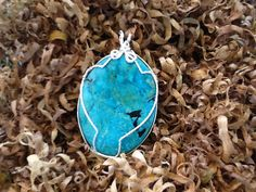 Shopdoghandmade beautiful turquoise pendant. https://www.etsy.com/listing/461409228/turquoise-pendent