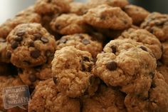 Oatmeal Chocolate Chip Cookies - Mama Say What?!